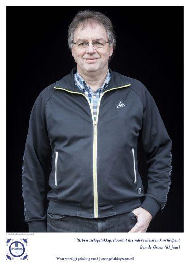Ben de Groen: 'Belangrijk dat iemand zijn verhaal kwijt kan.'