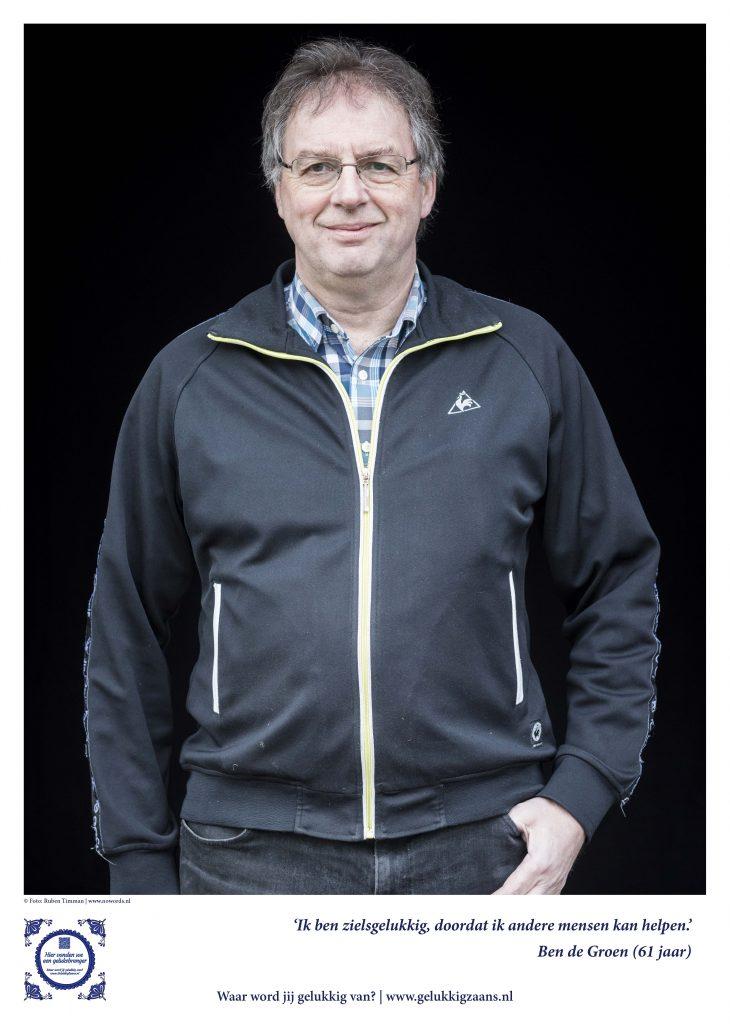 Geluksbrenger Ben de Groen: goede communicatie is zo belangrijk foto Ruben Timman